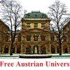 tuition free austrian universities
