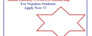 indian embassy compex scholarship for nepalese students notice