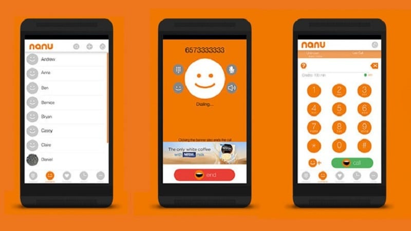 Nanu App – Free Call All Over the World from Nanu App