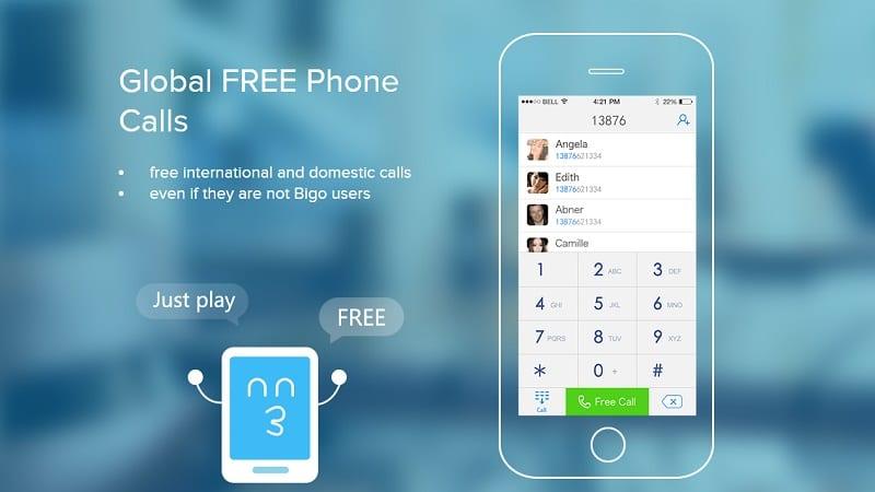bigo free calling apps