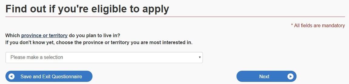 canada express entry eligibility
