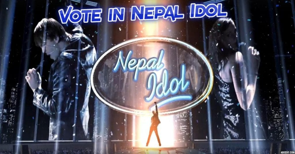 how to vote in nepal idol