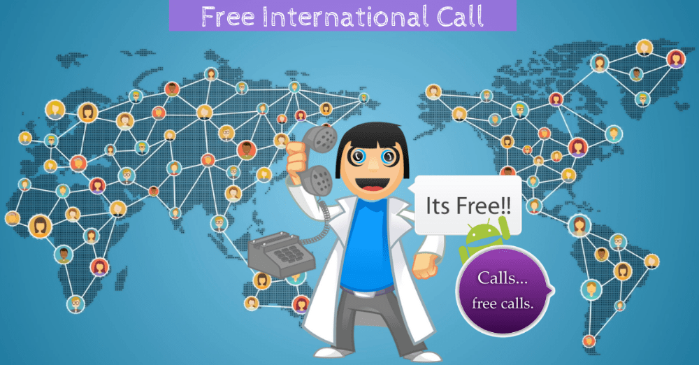 how to make free international call