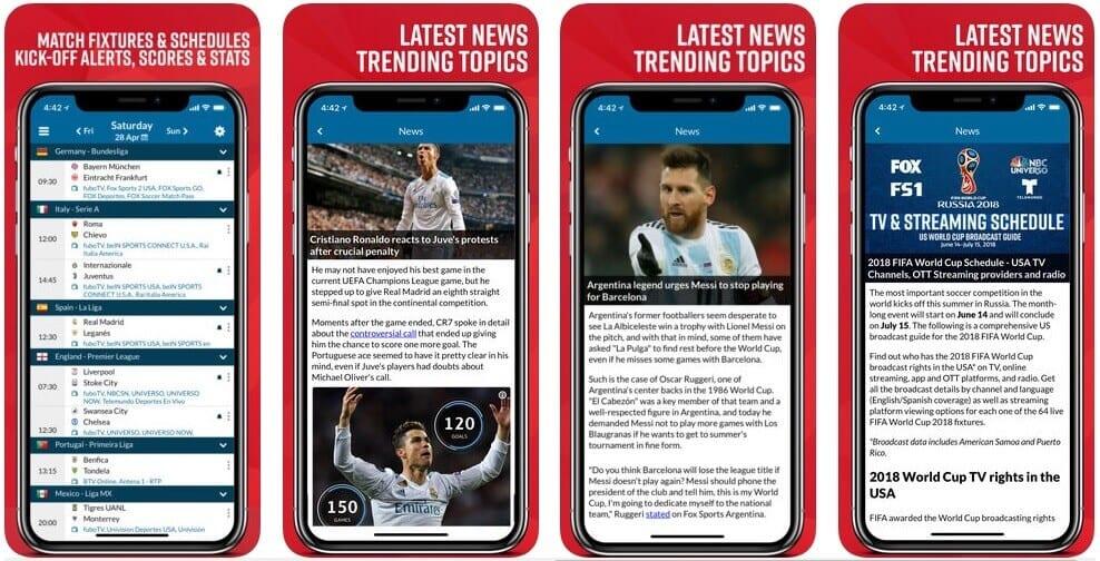 Live Soccer TV App