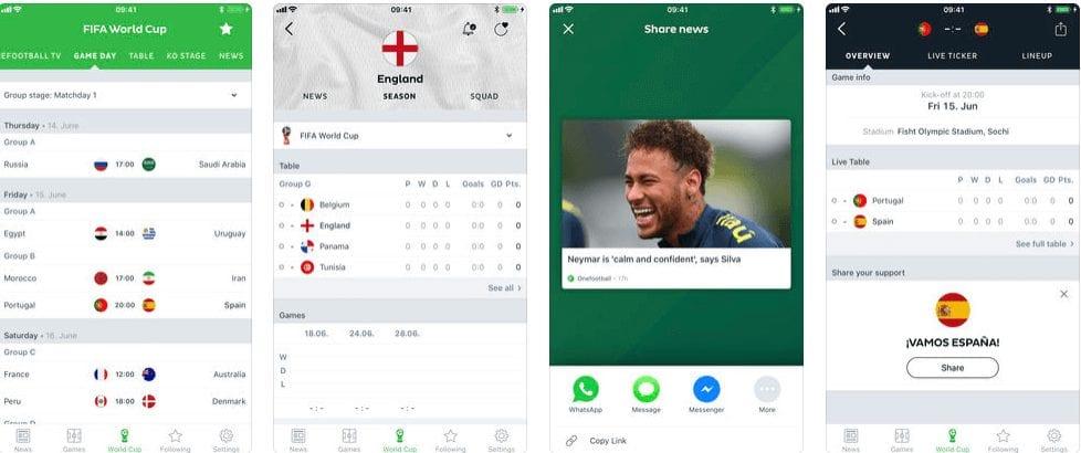 Onefootball Mobile App